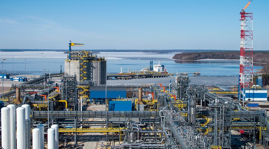Zakład produkcji LNG Cryogas-Vysotsk