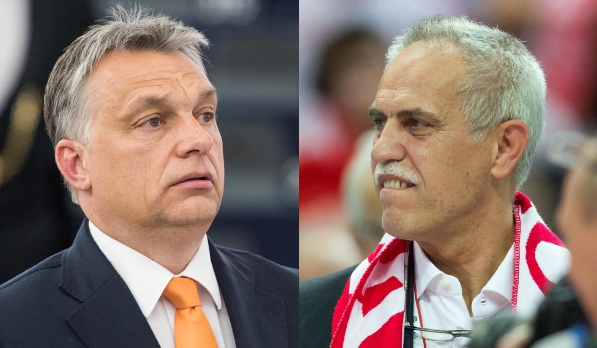 kolaż: flickr.com/European Parliament (Orban) & ANDRZEJ IWANCZUK/REPORTER (Solorz-Żak)