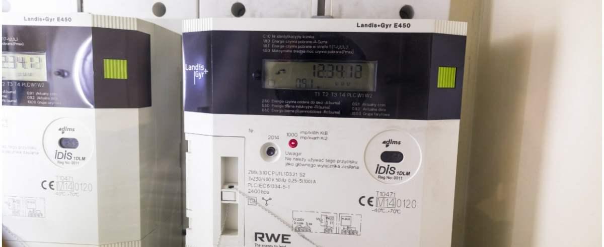 fot: Arkadiusz Ziolek/ East News. 01.01.2020. n/z Inteligentny licznik energii elektrycznej firmy Innogy (dawniej RWE Stoen).