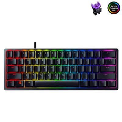 Black Huntsman Mini (Purple switch) @ TK Computer Cambodia