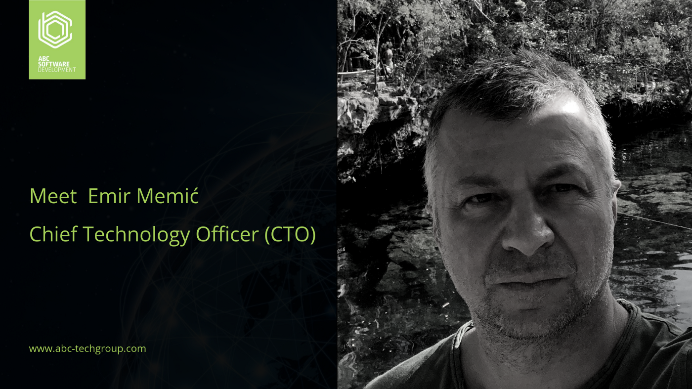 We are excited to announce the appointment of Emir Memić as Chief Technology Officer (CTO)