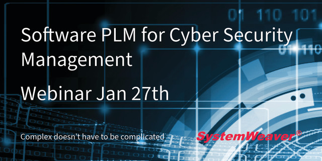 SystemWeaver Software PLM for Cyber Security Management