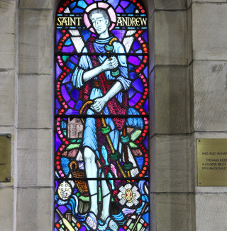 Carriden Church - stained glass 3