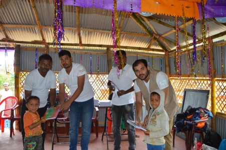 Inauguration of Child Development Centers