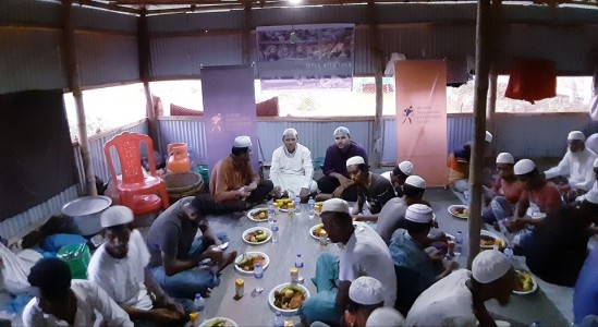 ''Making Iftar with Them'' at Cox's Bazar Balukhali Rohingya Refugee Camp