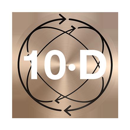 10D Flex head