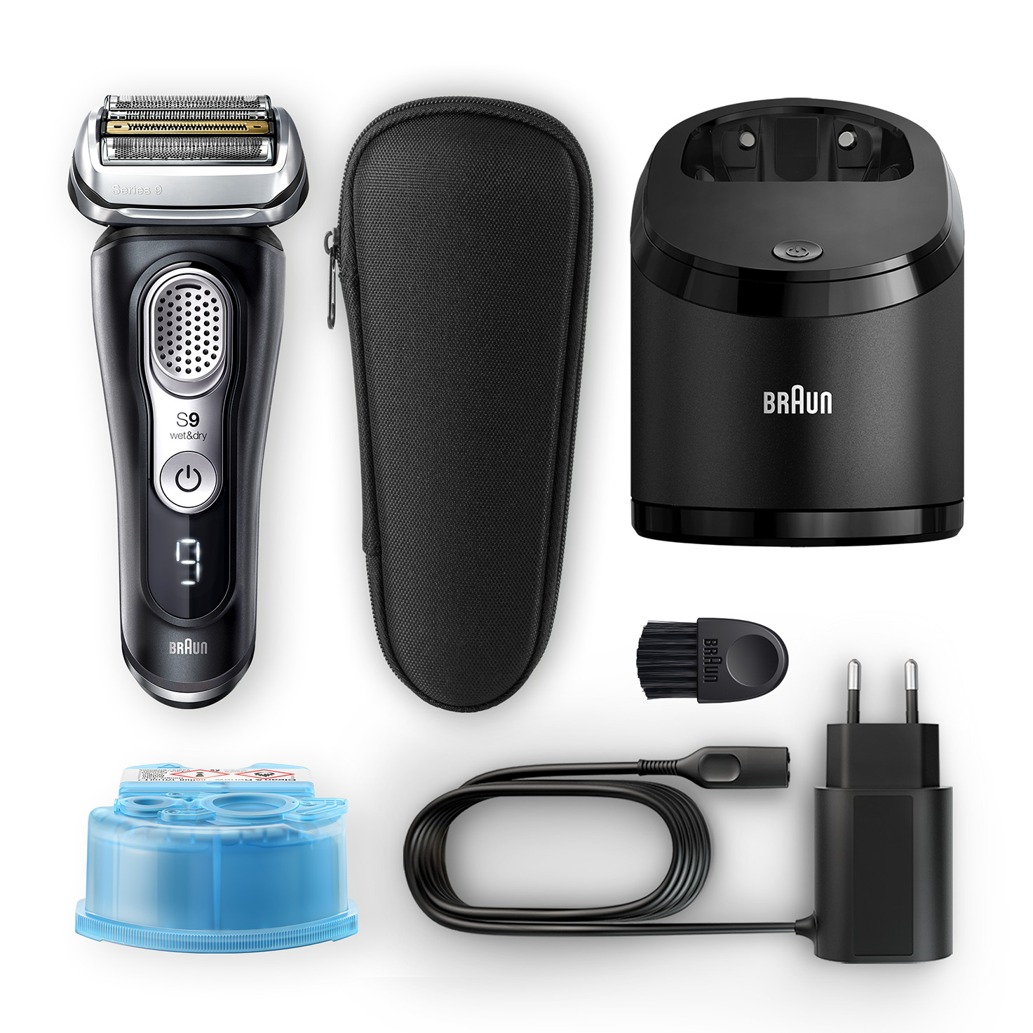 Series 9 9360cc shaver - What´s in the box