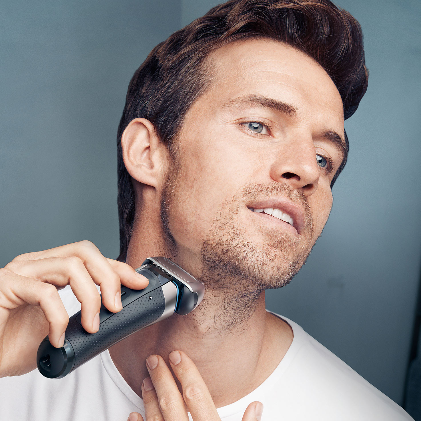 Series 8 8330s shaver - in use