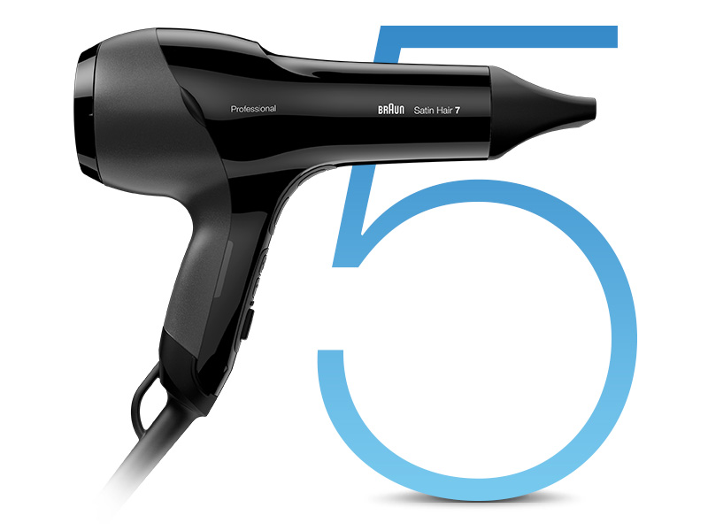 Asciugacapelli Braun Satin Hair 7 SensoDryer