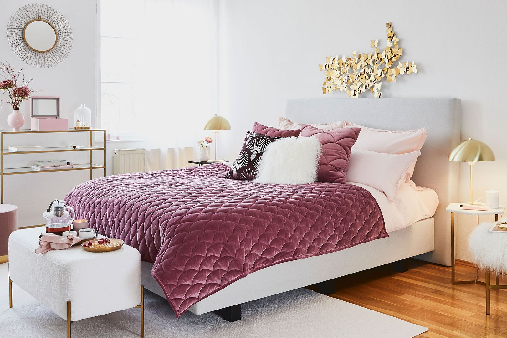 Chambre Rose Glam
