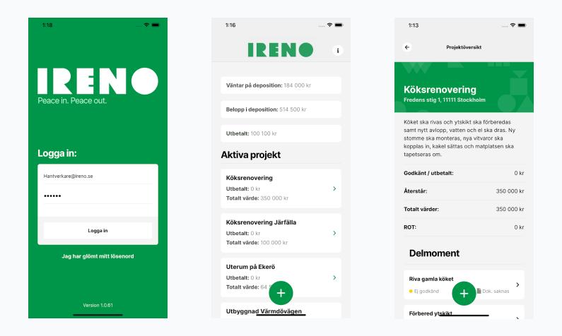 Ireno Business App