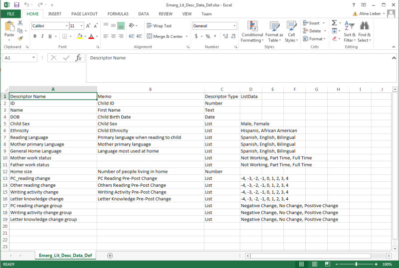 Compatible Excel Sheet for Importing Data