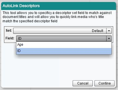 Select the Field with your Document Titles