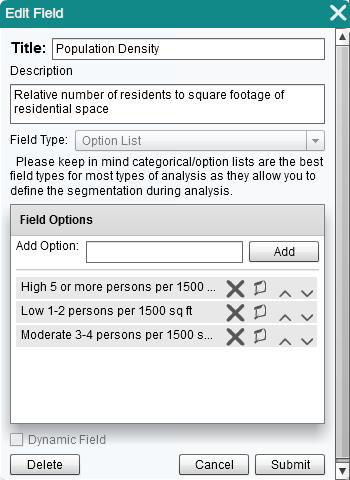 date field definition