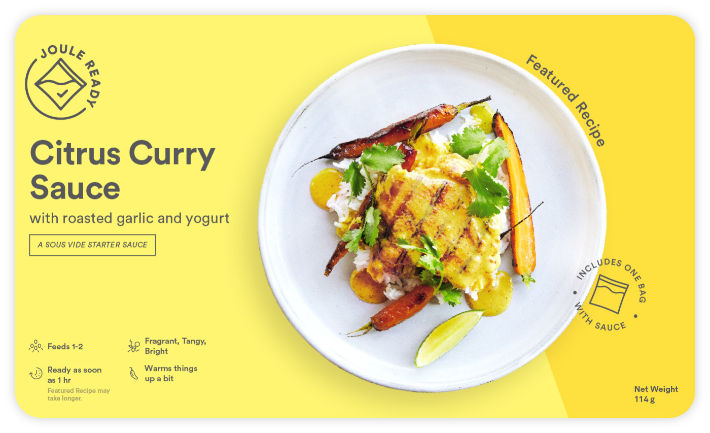 Citrus Curry Sauce