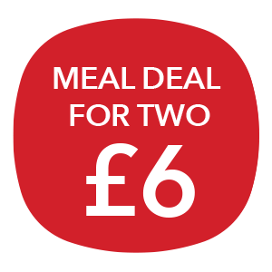 Meal deal for two - £6