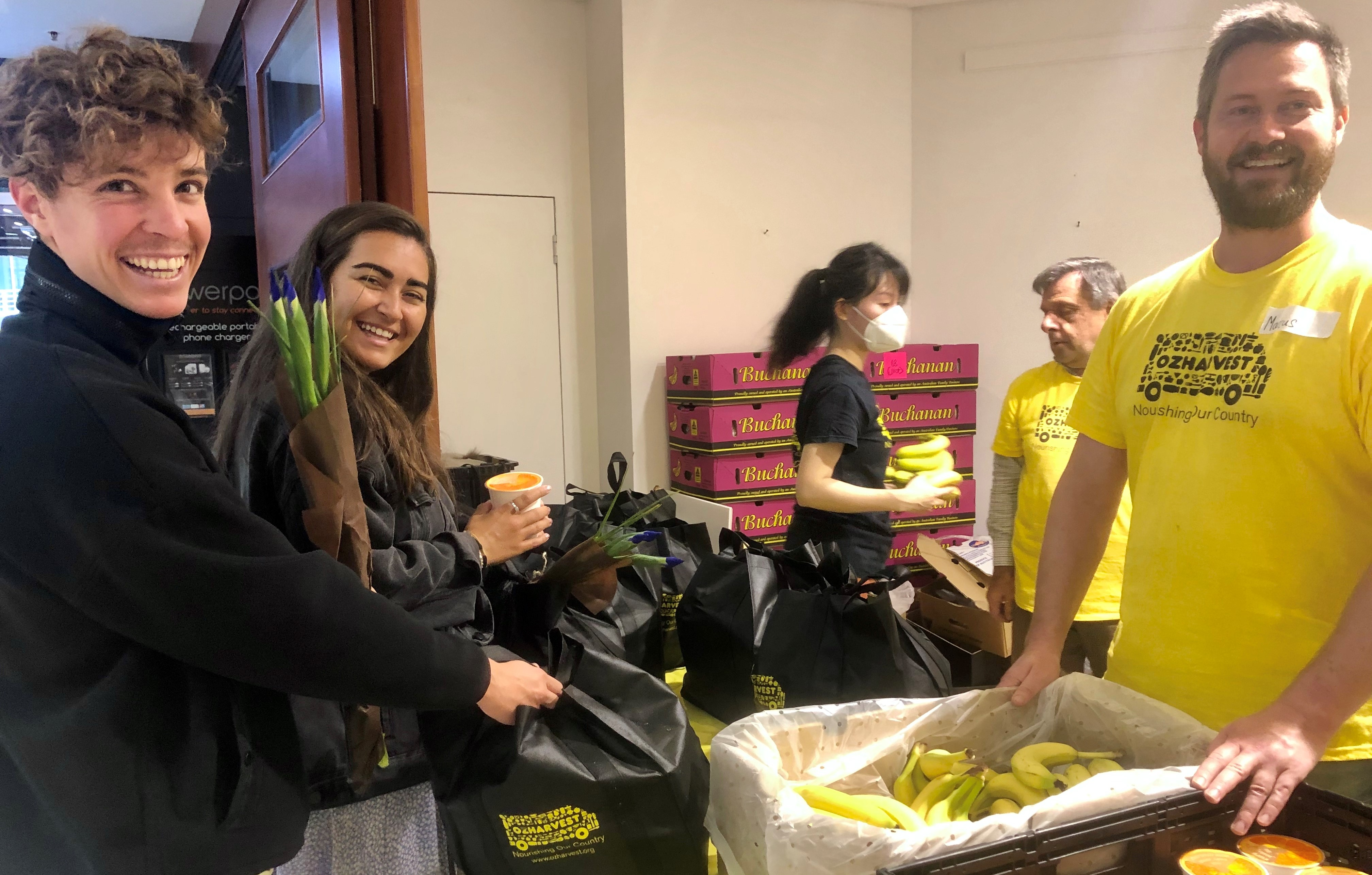 OzHarvest food relief for international students