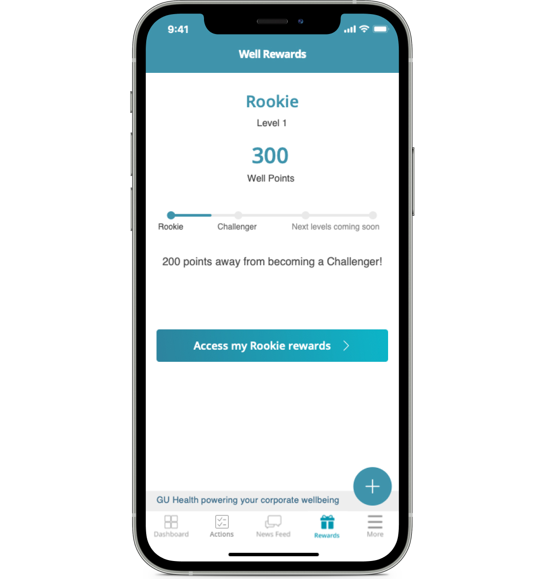 Download the Well with GU Health app