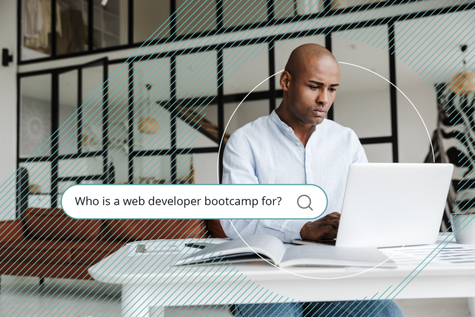 Flatiron School's web development bootcamp is for anyone who is willing to work hard to change their career.