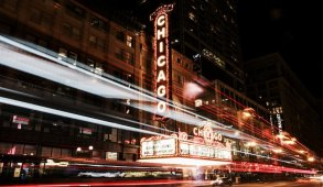 Chicago city bustle