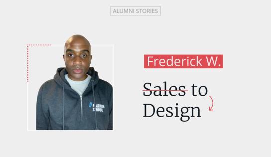 Frederick Williams UX UI designer