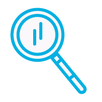 Flatiron Magnifying Glass Icon