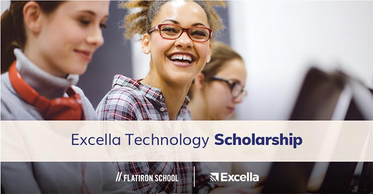 Blog post image: Excella_Technology_Scholarship_1-1024x534.png