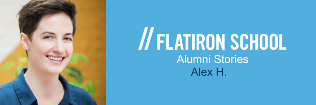 Alex H Alumni Stories banner