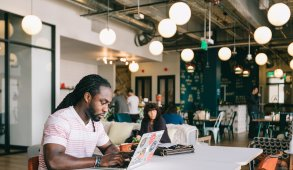 Blog Header: Open Floor WeWork