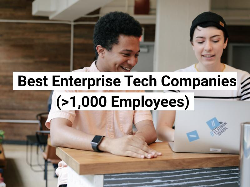 companies with >1000 employees