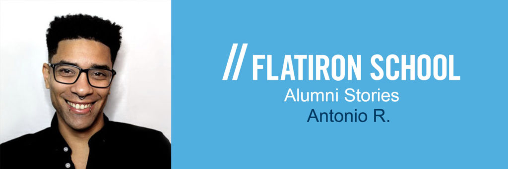 Antonio R Alumni Stories banner