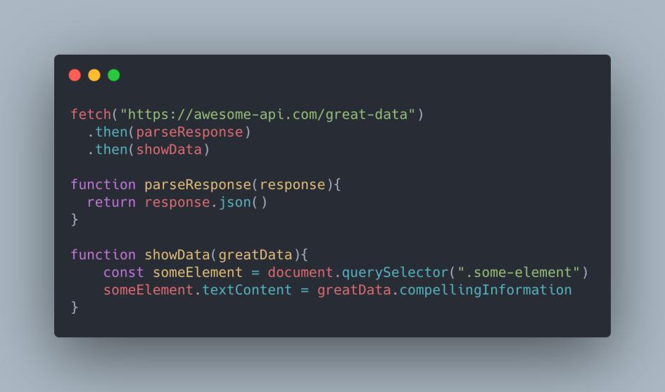 example code of JavaScript