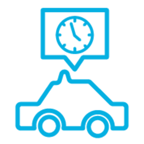 Taxi Ride Icon