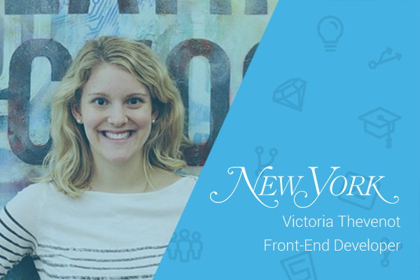 Victoria Thevenot logo and name
