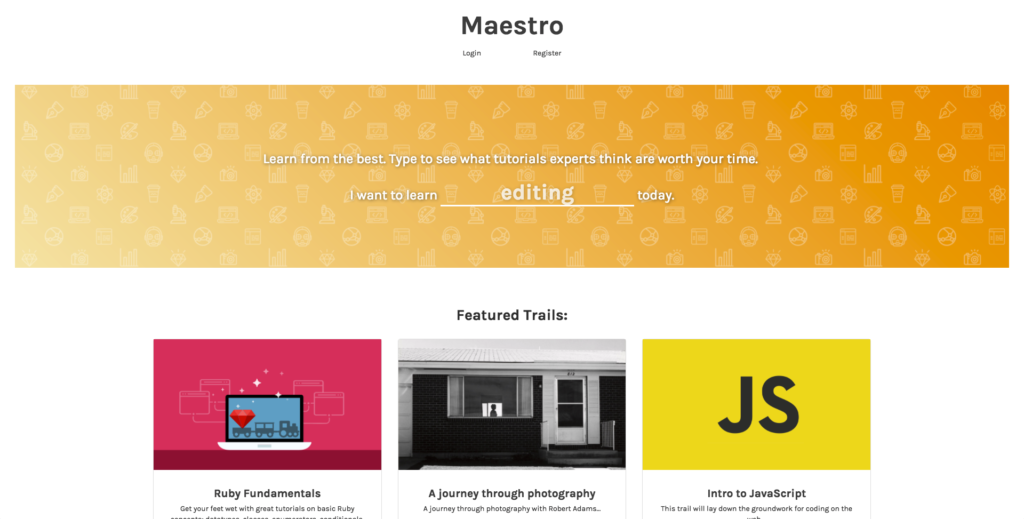 Blog post image: Maestro-1024x519.png