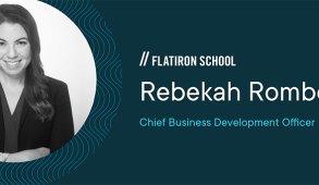 Rebekah Rombom is chief business development officer