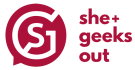 Logo: She+ Geeks Out