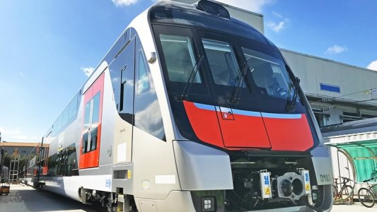Train Testing RailConnect - UGL Rail, Mitsubishi Electric Australia and Hyundai