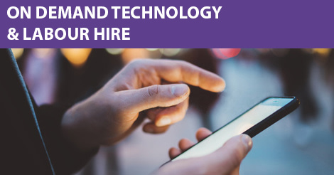 On Demand Technology Revolutionising Employment Solutions