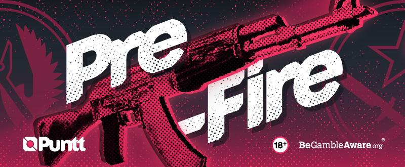 Banner promoting Pre-Fire player form preview in the Puntt news section