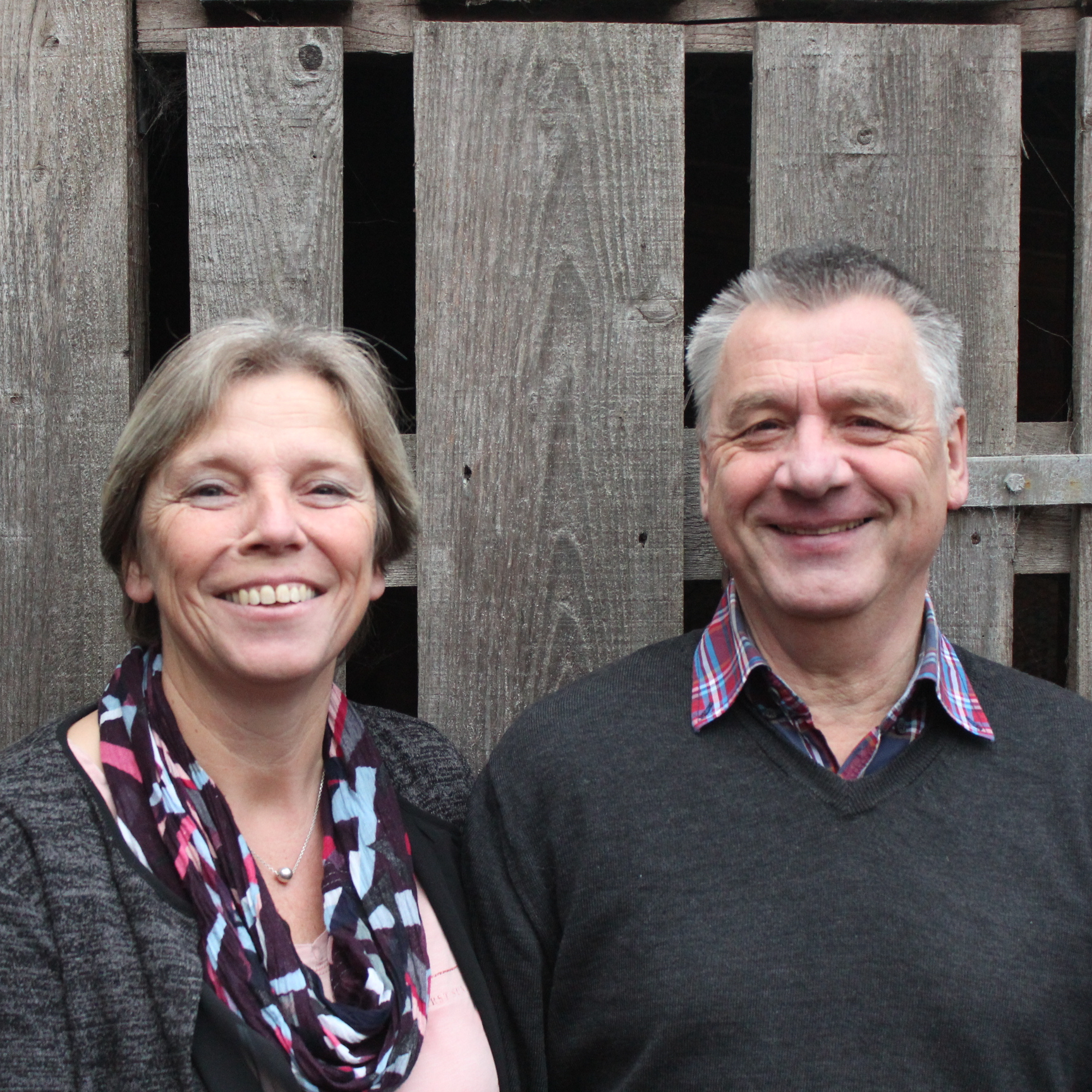 Porträt von Elisabeth und Willi
