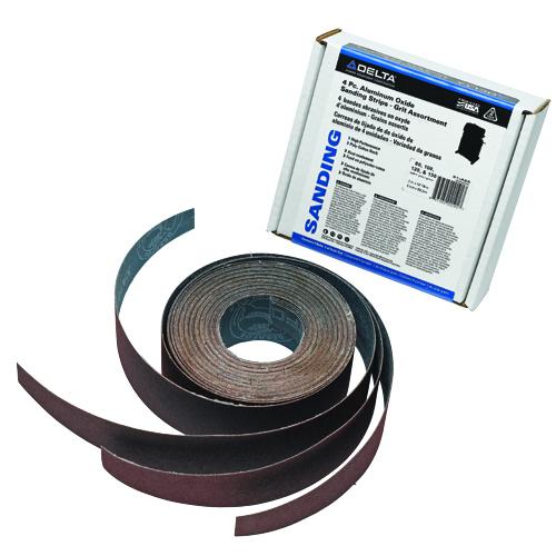 4 Pc. Aluminum Oxide Sanding Strips - Grit Assortment