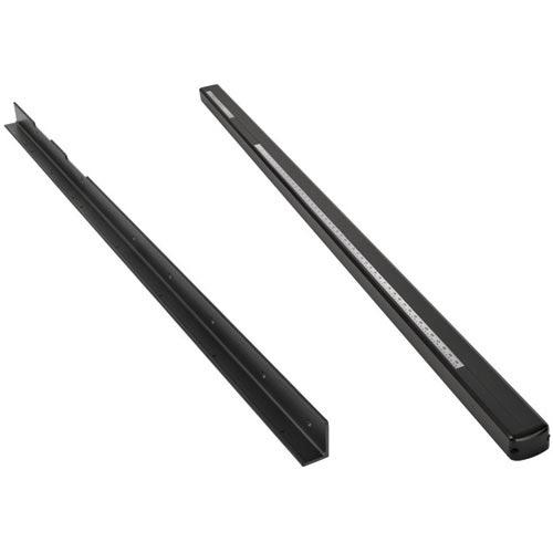 "T2 36"" Black BIESEMEYER Fence Rails"
