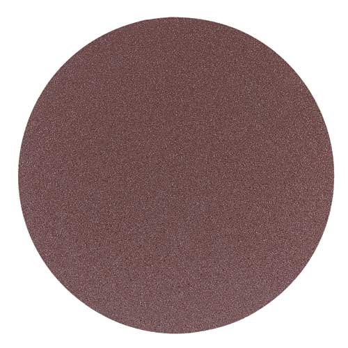 12 in. 50 Grit 2 Pc. Aluminum Oxide Stick-On Discs