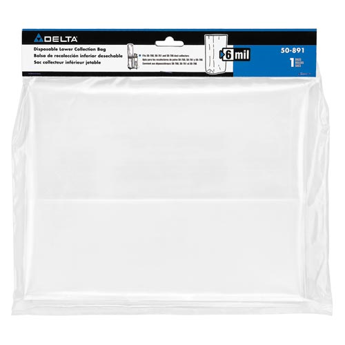 6 mil Lower Collection Replacement Bag for 50-786/50-760