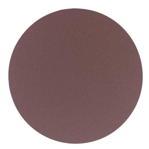 """12"""" 120 Grit 2 Pc. Aluminum Oxide Stick-On Discs"""