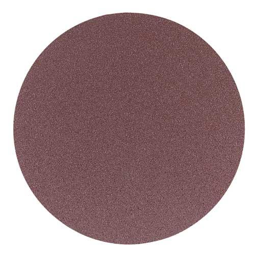 12 in. 80 Grit 2 Pc. Aluminum Oxide Stick-On Discs