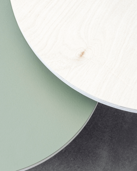 Side table surfaces