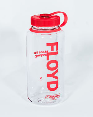 A Floyd Nalgene against a white background.