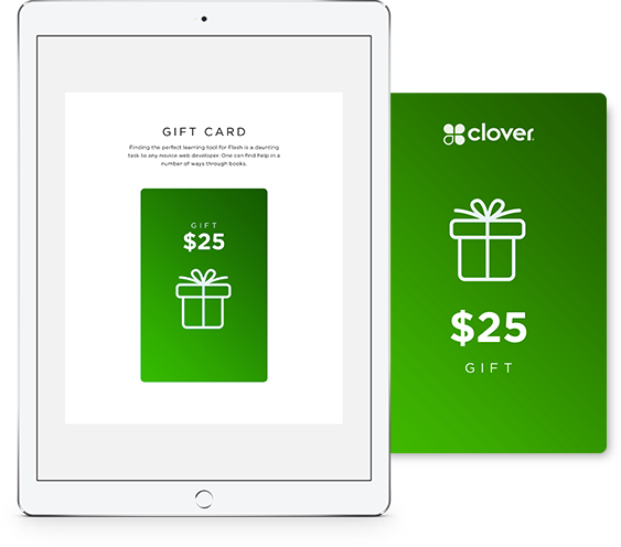 Welcome to clover credit card processing solutions to accept gift and youll receive reheart Gallery